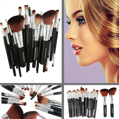 MAANGE Professional Makeup Brush Kit Set of 24 Cosmetic Make Up Beauty