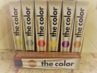 "Paul Mitchell ""The Color"" Permanent Cream Hair Color 3oz. MULTIPLE COLORS!"