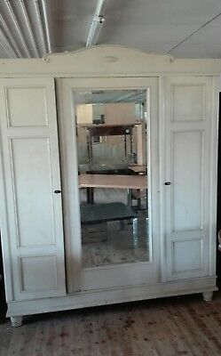 super schrank gr nderzeit jugendstil 1t rig 6 f llungen pfalz kiefer shabby chic eur 149 00. Black Bedroom Furniture Sets. Home Design Ideas