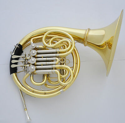 Professional 200 Model Anniversary Double French Horn Detachable Bell With Case