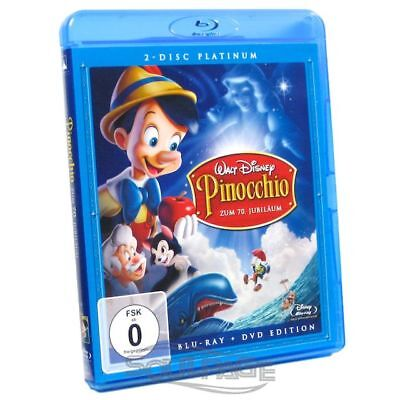 Pinocchio - Platinum Edition [Blu-ray] NEU / sealed - Walt Disney Blu-ray + DVD
