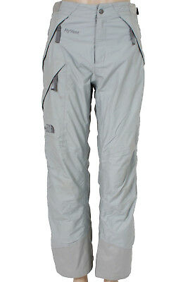 THE NORTH FACE HyVent Womens Ski Snowboard Grey Trousers Pants Size S