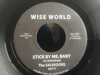 Salvadors Stick By Me Baby Northern 45 163 6 99 Picclick Uk