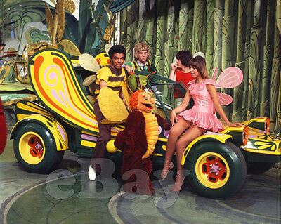 Rare! THE BUGALOOS 8 X10 Color TV Photo SID & MARTY KROFFT
