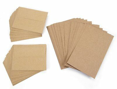 100 blank greeting cards and envelopes 5 x 7 a7 size notes