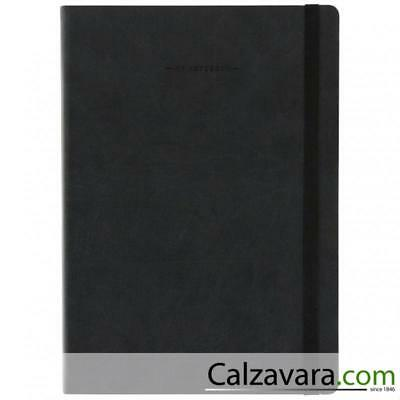 Legami - Notebook Taccuino - Large cm 17x24 - a Righe Lined - Nero Black
