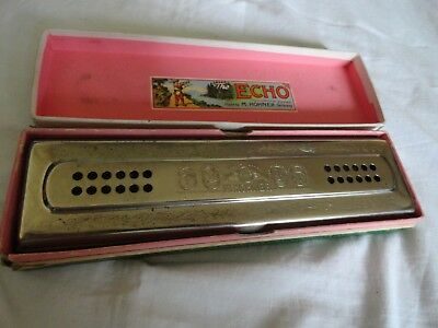 M.Hohner Echo  Bell Metal Reeds Mundharmonika C/G  Made in Germany