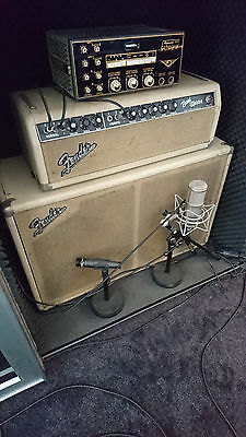 1964 Fender Bandmaster Amp mit 2x12 Oxford Box, blond, Export model!