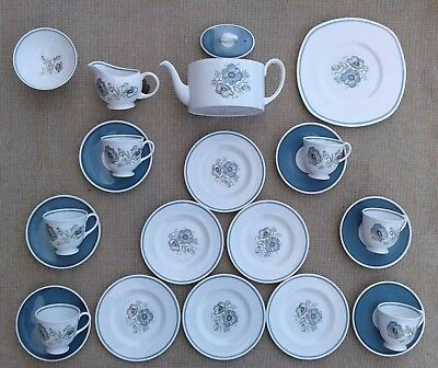 Susie Cooper - Glen Mist C1035 - Selection Of Tableware - Signed - Not Wedgwood.