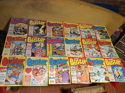 buster comics X 34 From Nov 1992/ July 1993