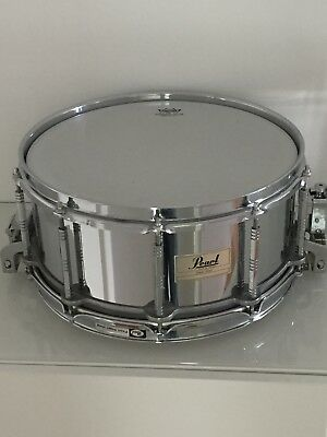"""PEARL 14""""x6,5"""" Free Floating Steel Snare - Stahl Snare"""