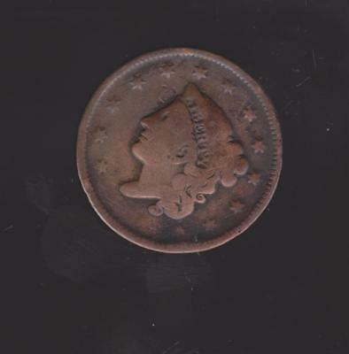 1836 Large Penny 181 Years Old History Galore Nice Color/detail Free Shipping