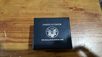 1998 1/10 oz Proof Platinum American Eagle (Box & CoA only)