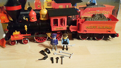 Playmobil 4054, Western Lok Steaming Mary, OVP, sehr guter Zustand
