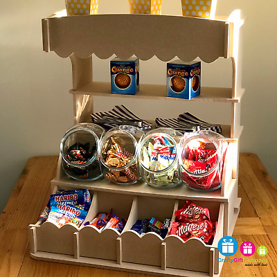 Candy Sweet Stall | Table top style Wedding, birthday, party candy cart  display