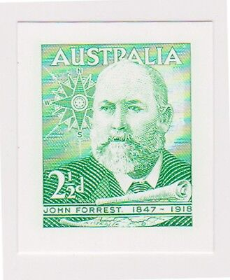 (ABF-12) 2005 AU PROOF of 1949 21/2d Sir John Forrest green