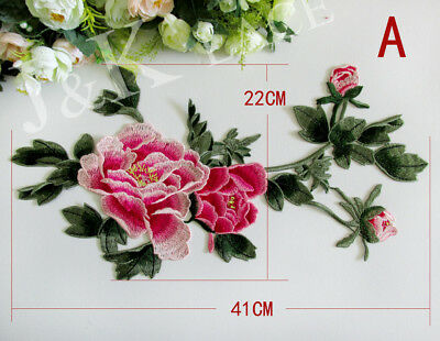 1 piece Pretty Flower Embroidery Sewing Applique