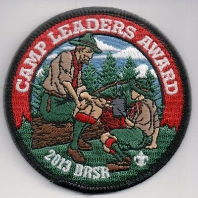 BSA Patch, Camp Blue Ridge Scout Reservation, Powhatan Ottari 2013 Leaders Award
