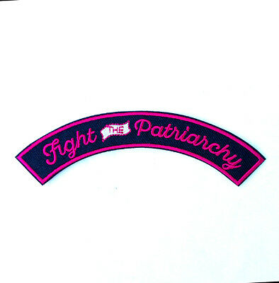 Fight The Patriarchy embroidered patch - Feminist, Feminism