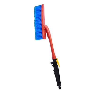 Water Fed Car Wash Cleaning Soft Brush Attach To Hose Pipe with Control Tap