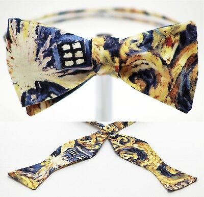 Bow Tie - Dr. Who Handmade by Remarkable Bowties - Item# Rem-TVM-DH-1117