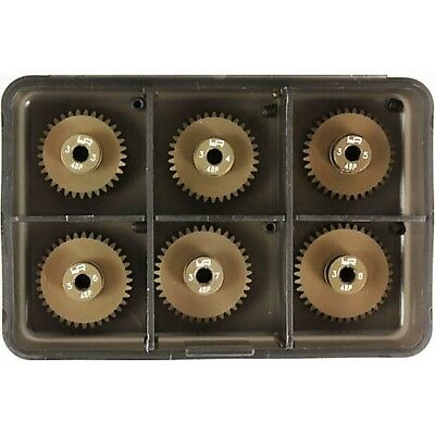 Motor gear pinion 48P set 33T-38T with case suit 1:10 RC Tamiya HPI TRAXXAS etc