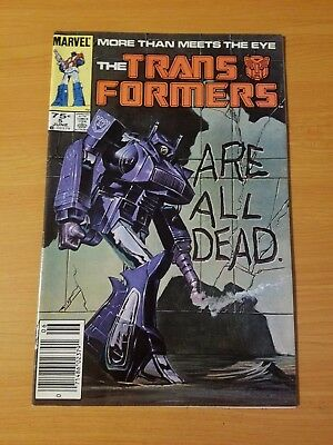 The Transformers #5 ~ NEAR MINT NM ~ (1985, Marvel Comics)