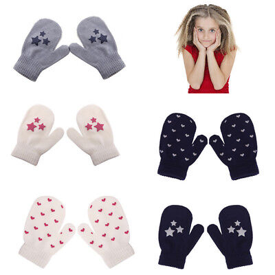 6Styles Newly Kids Baby Child Winter Gloves Toddler Boy Girl Mittens Hand Warmer