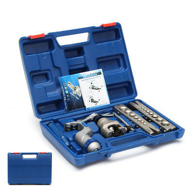 Flaring Flare Tool Kit Set Refrigeration Eccentric Cone Tube Pipe Cutter 5-19mm