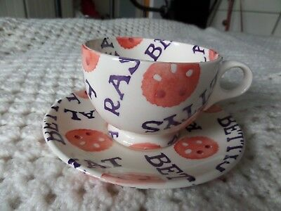 Emma Bridgewater Quot Fat Rascal Quot Cup Amp Saucer Exclusive For