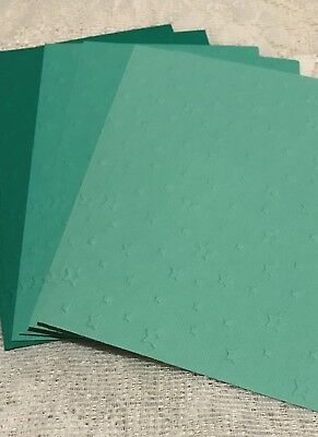 Scrapbooking Stationary Embossed Paper made with Card Stock END OF PRODUCT LINE