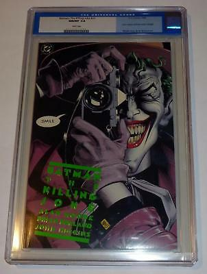 1988 BATMAN THE KILLING JOKE 1st Print CGC 9.8 White NM/MNT Joker Original Label