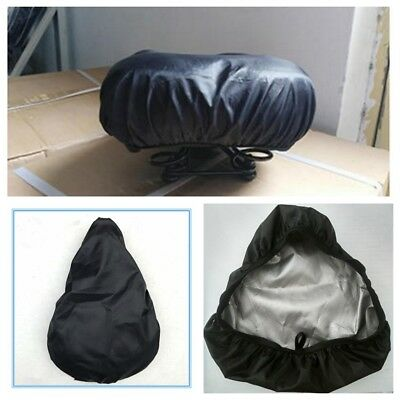 2Pcs Bike Seat Waterproof Rain Cover And Dust Resistant Bicycle Saddle Cover