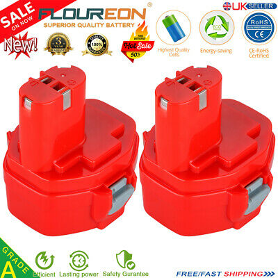 2x 14.4V 2,0Ah NiCD Battery for Makita PA14 JR140D 1420 1422 1433 1434 1435 1051
