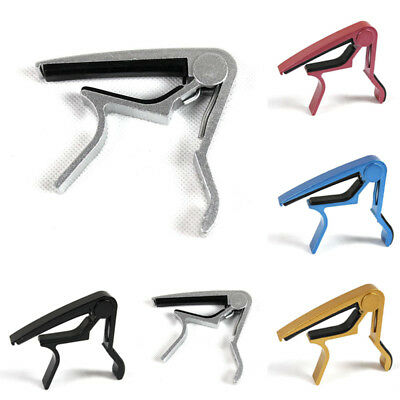 Quick Change Trigger Tune Key Capo Clamp for Acoustic Electric Guitar
