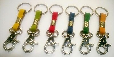 Keyring Leather Strap Krapac 522 New Tape Keychain With Ring