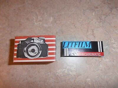 Mini toy camera with film vintage
