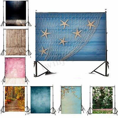 UK 5x7FT Vinyl Studio Photo Photography Backdrops Background Wedding Birthday