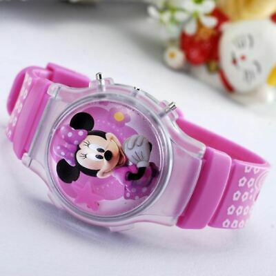 CHILDREN'S WATCH Disney Mickey and Minnie Mouse Classic Wrist Watch for Kids