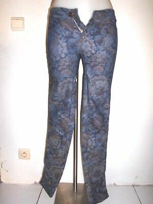 495125dd779 Sexy Moulant Jeans Stretch Taille Basse Femme Only Motif Fleuri Sombre  T xs s