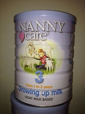 NANNY care - Growing up milk - Stage 3 - 900g