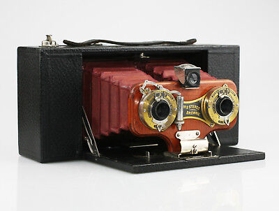 KODAK No.2 Stereo Brownie Camera Model A c.1905-10 - Beautiful Condition (PZ72)