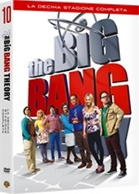 The Big Bang Theory - Stagione 10 (3 DVD) - ITALIANO ORIGINALE SIGILLATO -