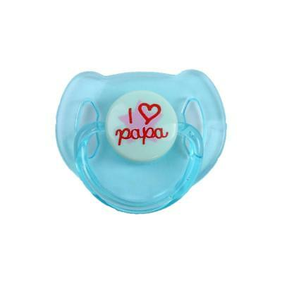 one reborn doll supplies dummy pacifier+magnet for reborn baby