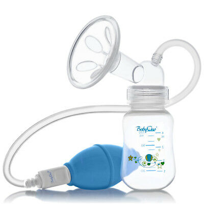 Manual Breast Pump With Bottle & Venting System Travel Baby Feeding Babyono