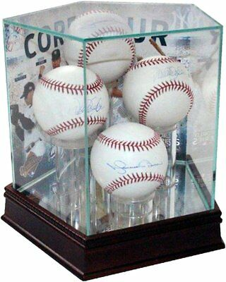 Core Four Background Glass Quad Baseball Case