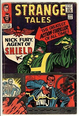 Strange Tales 135 - 1st Nick Fury of Shield - Key Book - 4.0 VG