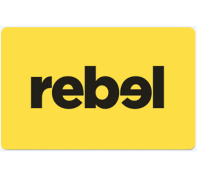 Rebel Sport Gift Card $20 $50 or $100 - Email Delivery