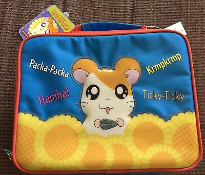New Hamtaro Lunch Bag Soft Side