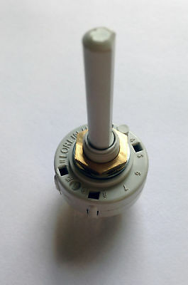 Rotary Switch 6 position 2 pole Break Before Make (non-shorting) 6PDT
